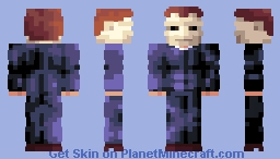 ℜomto- Micheal Myers Minecraft Skin