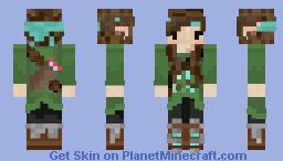 Elf of the Forest Minecraft Skin