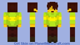 Deltarune - Casual Kris [Spoiler alt in Desc'] Minecraft Skin