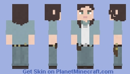 Maggie Rhee | The Walking Dead | 9x03 Minecraft Skin