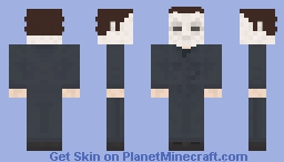 Michael Myers Minecraft Skin