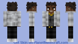 NBA Youngboy {Drawing Symbols} Minecraft Skin