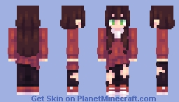 "📜ℭ𝔥𝔞𝔟𝔦𝔩𝔲𝔩𝔲📜""Only Somewhat Seen"" [ST] w/ Amalien Minecraft Skin"