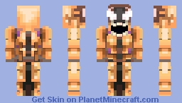 Symbiote Phage Minecraft Skin
