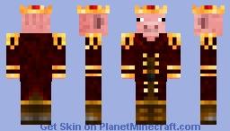 Pig king Minecraft Skin