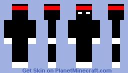 Ninja de l'Ombre Minecraft Skin