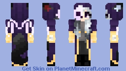 Silver The Grim Reaper || Halloween Skin Minecraft Skin