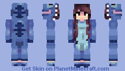 Forgot to post this on Halloween Minecraft Skin