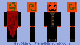 Pumpkin Headed Thing Minecraft Skin