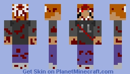 sleeping brine (hood down) Minecraft Skin