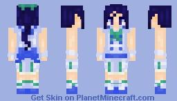 """Kanan Matsuura """"The First of Aqours"""" Minecraft Skin"""