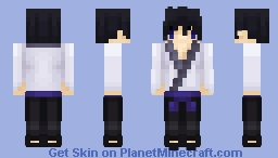青 Boy - Chibi Minecraft Skin