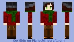 Autumn Cozy Girl Minecraft Skin