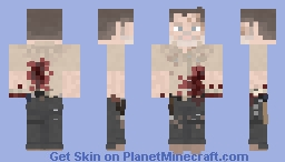 Rick Grimes || The Walking Dead || What Comes After Minecraft Skin