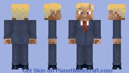 Donald Duck..Uuh...Ooops...Trump! Minecraft Skin