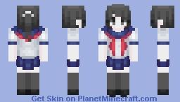 Ayano Aishi / Yandere Chan Minecraft Skin