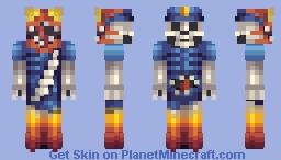 Spook Police Minecraft Skin