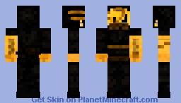 Striker | Bendy and the Ink Machine Minecraft Skin