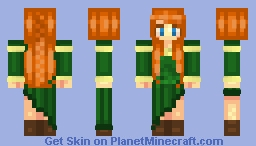 ⚔ Λοgαη ⚓ - Merida (My Cousin) Minecraft Skin