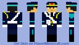 Vietnamese Air Force Honor Guard Minecraft Skin