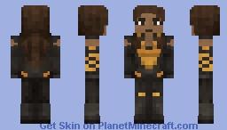 Vixen CW (Mari McCabe) Minecraft Skin