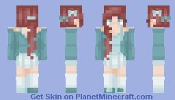 shє's ín thє rαín | [CE] - popreel Minecraft Skin