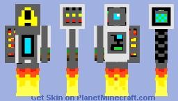 Explorer Bot Minecraft Skin