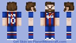 Lionel Messi — Version 2 Minecraft Skin