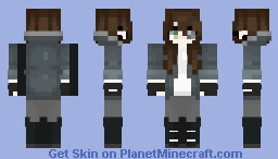 Clockwork (bored lol plus I edited the eyes, & hair >w Minecraft Skin