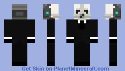 Badass Metrocop Minecraft Skin