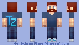 Triple Zee with a Beard Minecraft Skin