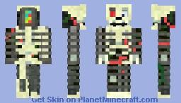 Beep-Boop-Bop Skelly-Bot Minecraft Skin