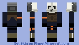 Beta Metrocop Minecraft Skin