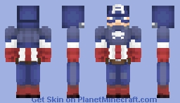 CAPTAIN AMERICA (Marvel NOW!) (MARVEL LEGACY) Minecraft