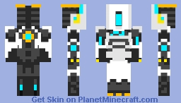 Cray the robot. Minecraft Skin