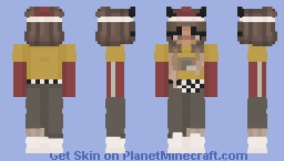 ♀ | @Hσмє Vol.2 | Malia Minecraft Skin