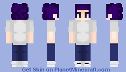 Mineta Minoru Training Camp Minecraft Skin