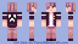 hey i'm alive?? Minecraft Skin
