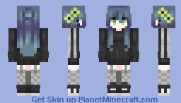 Radioactive Minecraft Skin