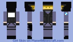 CSS GIGN Minecraft Skin