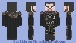 Jon Snow || Game of Thrones || The Dragon and the Wolf Minecraft Skin
