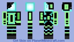 OnehandBot Minecraft Skin