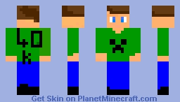 Skin for EC_Cat (Who will soon be 40k!) Minecraft