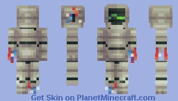 Rusted Flatline Minecraft Skin