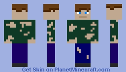 Homeless Boy Minecraft Skin