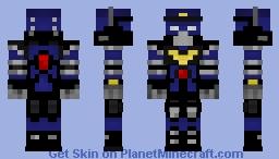 Police Robot Unit 3 - P.R.U. 3 Minecraft Skin