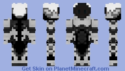 Lucifer | Robot contest Minecraft Skin