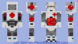 Medical Robot Unit 1- M.R.U. 1 Minecraft Skin