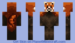 Red Panda Minecraft Skin
