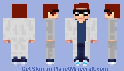 Scientist Triple Zee Minecraft Skin